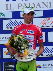 Nibali leader classifica a punti (Foto Pisoni)